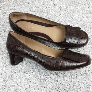 Naruralizer Dahlia Leather pumps Size 10M